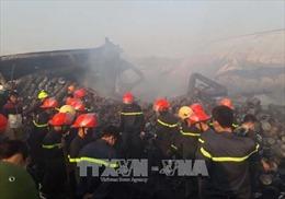 Cháy tại Công ty Cổ phần bánh kẹo Tràng An do nổ lò nướng