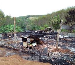 Đắk Nông: Hỏa hoạn lúc ba mẹ vắng nhà, hai cháu nhỏ thương vong