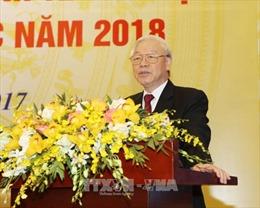 Tổng Bí thư Nguyễn Phú Trọng: Phát triển nhanh và bền vững hơn, không để tụt hậu