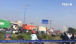 TP Hồ Chí Minh: Ùn tắc nghiêm trọng nhiều tuyến đường