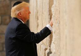 Được Tổng thống Mỹ 'nâng đỡ', Israel tỏ lòng biết ơn như thế nào?
