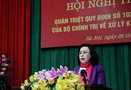 Hà Nội quán triệt Quy định mới của Bộ Chính trị về xử lý kỷ luật đảng viên vi phạm
