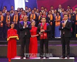 Trao Giải thưởng Sao đỏ - Doanh nhân trẻ Việt Nam tiêu biểu năm 2017