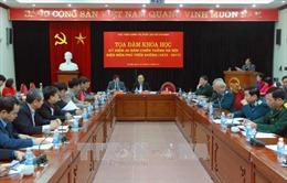 Tọa đàm khoa học kỷ niệm 45 năm chiến thắng 'Hà Nội - Điện Biên Phủ trên không'