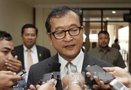 Thủ lĩnh đối lập Campuchia bị phạt 1 triệu USD vì tội phỉ báng Thủ tướng