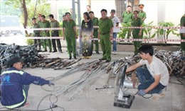 Đồng Nai tiêu hủy 5.000 vũ khí, vật liệu nổ và công cụ hỗ trợ