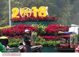 Hà Nội rực rỡ cờ hoa đón năm mới Mậu Tuất