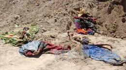 Phát hiện hố chôn tập thể ở miền Bắc Syria