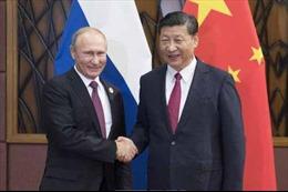 Chủ tịch Trung Quốc khẳng định sẵn sàng thúc đẩy hợp tác chiến lược với Nga