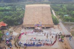 Sum vầy đón năm mới bên mái nhà Rông truyền thống lớn nhất tỉnh Gia Lai