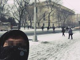 'Sói đơn độc' ủng hộ IS thản nhiên chụp ảnh giữa đường ở New York