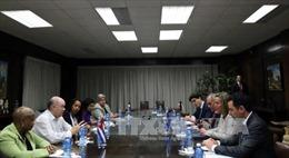 EU-Cuba rà soát việc thực thi Hiệp định đối thoại chính trị và hợp tác