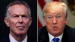 Cựu Thủ tướng Tony Blair để lộ tình báo Anh từng do thám Tổng thống Trump?