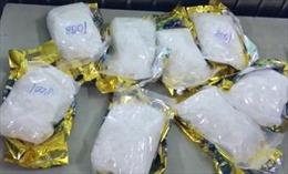 Bắt giữ 8 đối tượng cùng 14kg ma túy đá và hơn 26.000 viên thuốc lắc