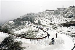Nền nhiệt giảm sâu, băng mỏng xuất hiện nhiều nơi ở Điện Biên