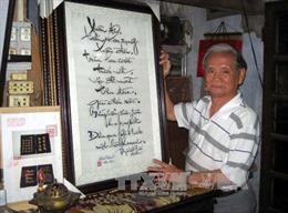 Cảnh, tình đất Việt trong tranh thêu xứ Huế