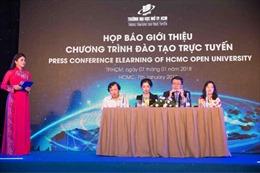 Đại học Mở TP Hồ Chí Minh công bố 9 ngành đào tạo trực tuyến