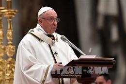 Giáo hoàng kêu gọi ủng hộ đối thoại lập lại hòa bình trên Bán đảo Triều Tiên