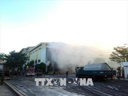 Cháy lớn tại Nhà máy giấy của Công ty cổ phần Giấy Sài Gòn