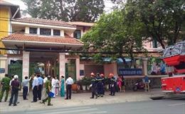 Cháy tại trường Lê Quý Đôn, hàng trăm học sinh được di tản
