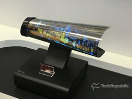 LG Display 'trình làng' màn hình OLED cuộn đầu tiên