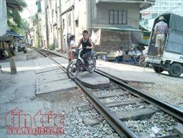 Sẽ xóa bỏ đường ngang dân sinh qua đường sắt