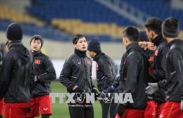 VCK U23 châu Á 2018: Tuyển thủ Việt Nam tin tưởng sẽ có kết quả tốt trước Hàn Quốc