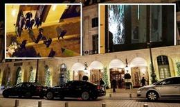 Táo tợn vác rìu đập kính Khách sạn Ritz tại Paris, cướp trang sức hàng triệu euro