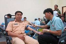 600 chiến sỹ Công an TP Hồ Chí Minh tham gia hiến máu cứu người