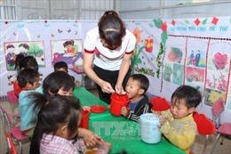 Trẻ mẫu giáo vùng đặc biệt khó khăn và thuộc hộ nghèo được hỗ trợ ăn trưa