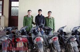 Hà Tĩnh bắt đối tượng thực hiện 16 vụ trộm cắp xe máy