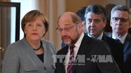 Đức: Liên đảng bảo thủ của Thủ tướng Merkel đạt thỏa thuận về nguyên tắc với SPD