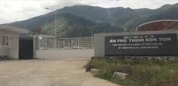 Kon Tum: Nhà máy chế biến mủ cao su APT vận hành thử nghiệm 'chui'