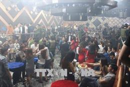Phát hiện hàng chục 'dân chơi' sử dụng ma túy trong quán bar ở Đồng Nai