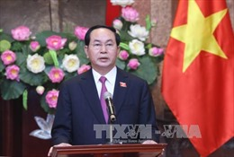 Chủ tịch nước: Quan hệ Việt - Nhật đang phát triển mạnh mẽ, toàn diện và thực chất