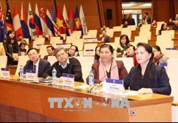 Chủ tịch Quốc hội Nguyễn Thị Kim Ngân dự tổng duyệt hoạt động Hội nghị APPF-26
