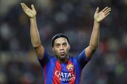 Ronaldinho giải nghệ - Chia tay số 10 tài năng