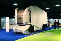 Xe tải tự động T-pod gây ấn tượng mạnh tại Triển lãm ô tô Detroit