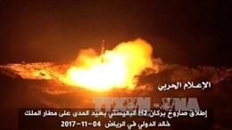 Saudi Arabia đánh chặn vụ tấn công tên lửa mới từ Yemen