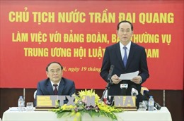 Hội Luật gia Việt Nam cần tích cực tham gia xây dựng chính sách, pháp luật