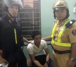 Cảnh sát giao thông lần theo định vị bắt đối tượng cướp xe máy