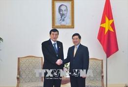 Phó Thủ tướng Phạm Bình Minh tiếp đoàn nghị sĩ Nhật Bản