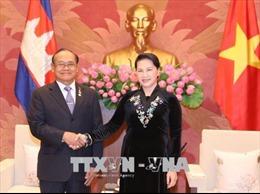 Chủ tịch Quốc hội tiếp Phó Chủ tịch Thượng viện Campuchia