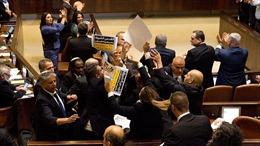 Quốc hội Israel náo loạn vì bài phát biểu của Phó Tổng thống Mỹ