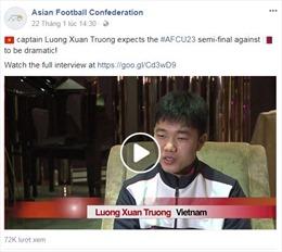 Bất ngờ trước tài nói tiếng Anh của đội trưởng U23 Lương Xuân Trường