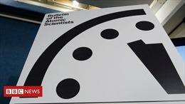 Đồng hồ Ngày tận thế nhích thêm 30 giây, lặp lại kỷ lục cách đây 65 năm