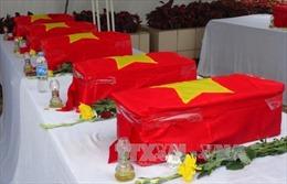 Quy tập 94 hài cốt quân tình nguyện Việt Nam hy sinh ở Campuchia