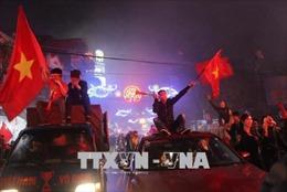 Người hâm mộ Hải Dương truyền lửa cho Văn Thanh, Văn Toàn
