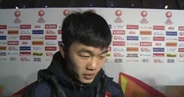 Clip lời nhắn nhủ đặc biệt của Xuân Trường với người hâm mộ sau trận chung kết U23