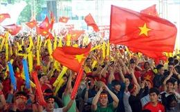 Đủ kiểu cổ vũ đội tuyển U23 Việt Nam tại TP Hồ Chí Minh